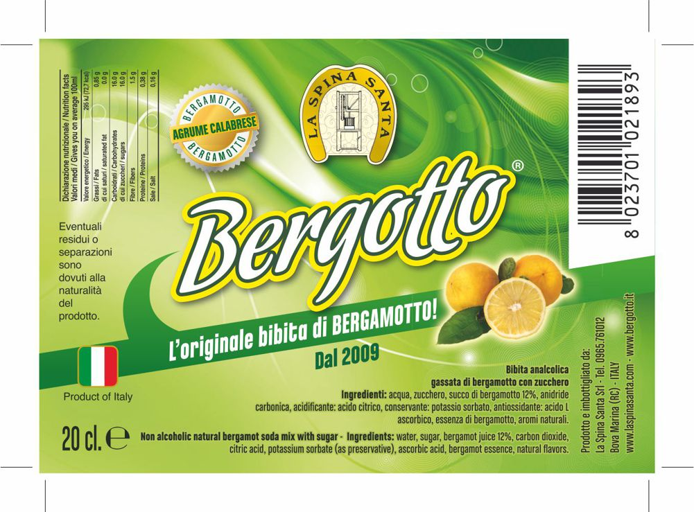 Bergotto cash bt from 24 to 20 cl