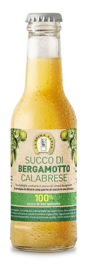 Succo di bergamotto puro 100%, ml. 200